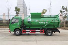 程力汽车8吨餐厨泔水垃圾运输车 泔水车0首付