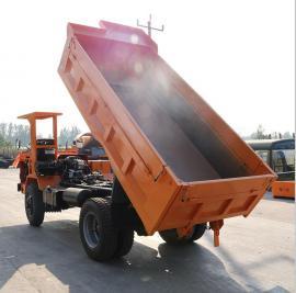 窄轮距矿用井下柴油井下自卸运输车 高周转 使用方便
