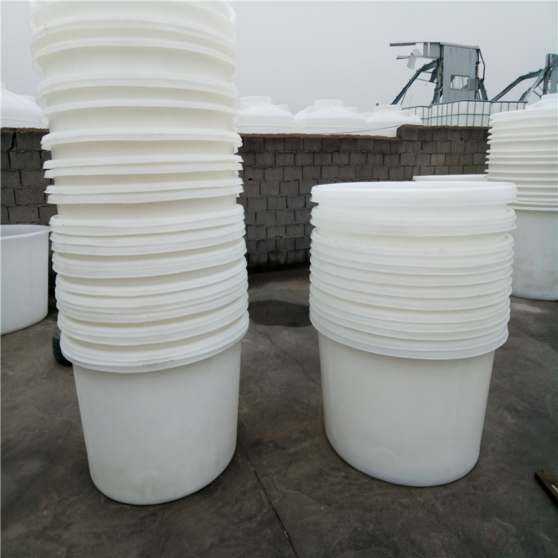 富航容器中东牌酱菜厂泡菜桶 敞口拌料罐圆形塑料腌菜缸