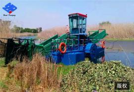 水葫芦割草船 水面垃圾打捞船 河道保洁船