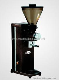法国山度士磨咖啡豆机SANTOS 04 静音磨豆机 (带夹袋器/棕色)