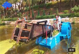 库区垃圾打捞船 河道清漂船 水草收割船