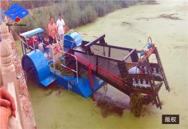 浮渠浮莲浮萍割草船 自动清理水葫芦船 除草船