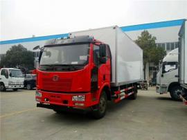 解放J6冷藏车 解放6.8米冷链车