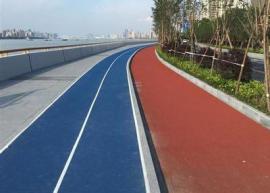 沥青改色路面的主要特点