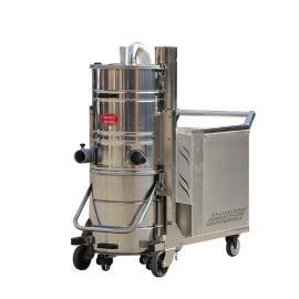 三相电工业吸尘器吸重金属粉末颗粒焊渣用涡轮电机大风量吸尘器