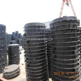 球墨铸铁井盖 圆形重型铸铁井盖 防沉降铸铁井盖700