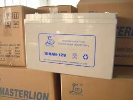 雄狮蓄电池24AH-12V详细说明12V24AH原厂报价