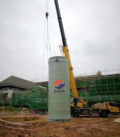 金泽供水设备有限公司定制各种规格一体化污水预制提升泵站