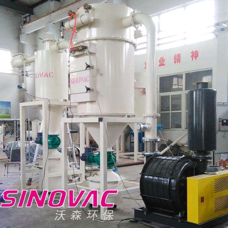 粮食仓储粉尘治理设备SINOVAC真空清扫系统