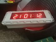 专业新型数显式防爆电子钟