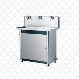 三剑客工厂用不锈钢节能饮水机温热型即热式直饮水机RO五级超滤