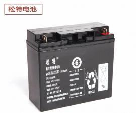 松特蓄电池LC-X1224质量保证12V24AH免维护电池