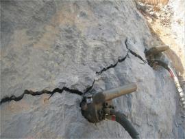 采石场破硬石头劈裂机