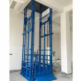 双轨液压升降货梯 导轨式升降货梯
