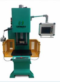 弓形数控油压机,数控油压压装机,单柱数显精密油压压装机
