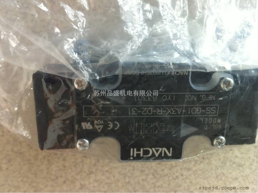 日本那智NACHI电磁阀系列SS-G03-E3X-FR-E115-J21