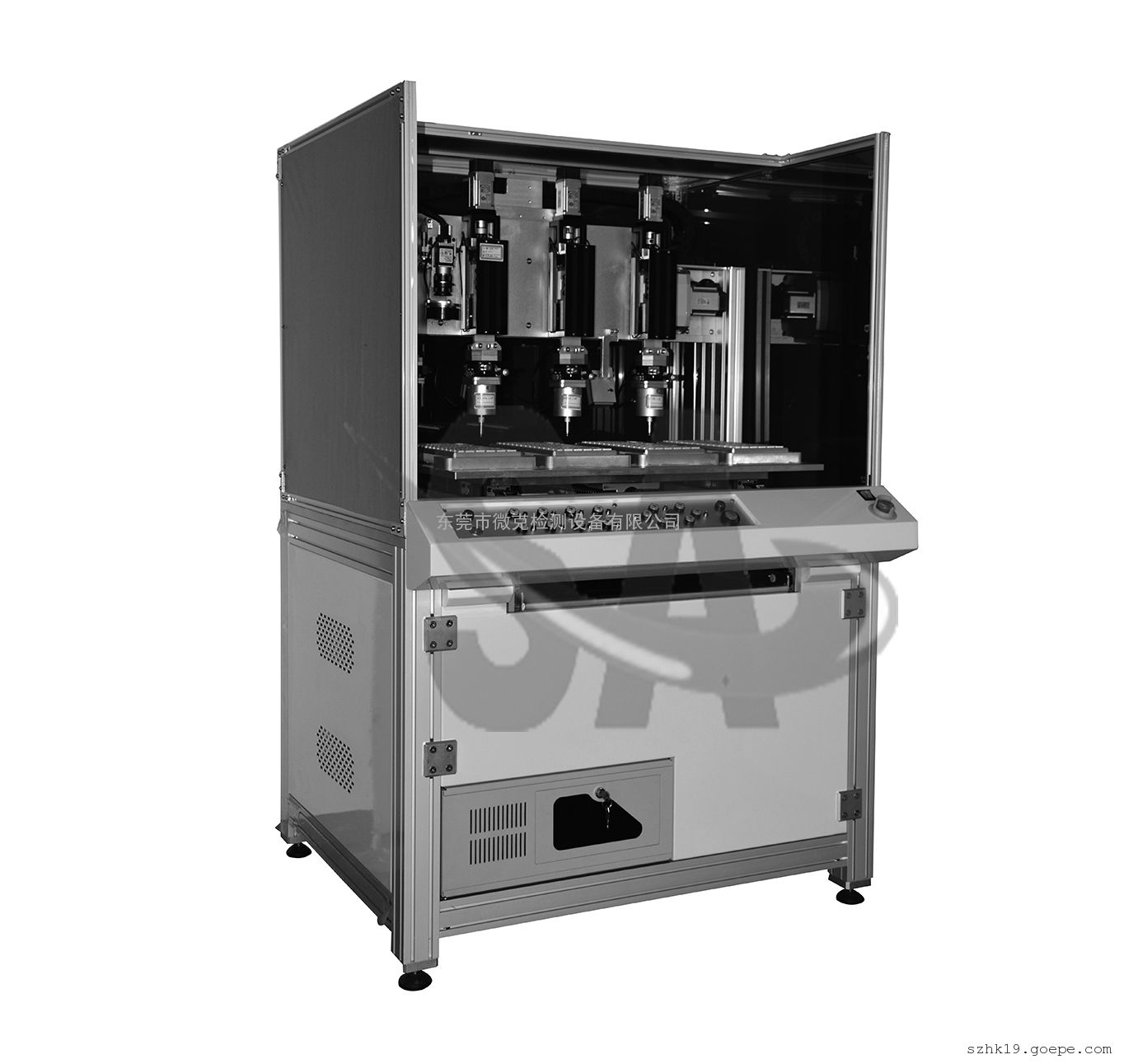 多工位键盘荷重位移曲线测试机