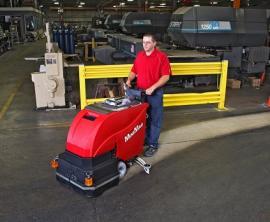 辉派工业原装进口美国卡特Power Cat M-710中型洗地机
