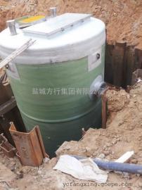 一体化预制泵站 一体化雨水提升泵站