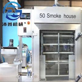 烟熏炉使用方法 烟熏鸡蛋设备
