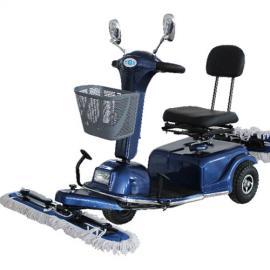 尘推车驾驶式电动拖地车 高铁候车厅酒店工厂扫地车清洁车