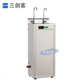 三剑客不锈钢直饮水机弯管龙头商用温热型节能饮水机