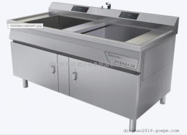 双槽不锈钢净化机保食安 BSA-S902BD 双槽食品净化机