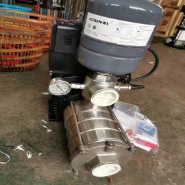 CHDF小型无负压给水设备节段式多级不锈钢离心泵机组变频泵机组