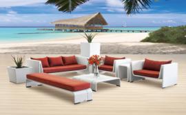 户外藤编沙发,旅游景点休闲桌椅,旅游景点躺椅,沙发组合