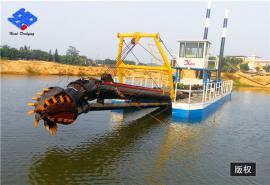 定制河道清淤船 淤泥打捞船 航道清淤设备