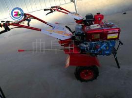 多功能柴油旋耕机 松土 土壤耕整 果园 园林 蔬菜大棚旋耕机
