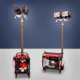 伊藤移动式6kw全方位泛光汽油灯塔YT6-4DT