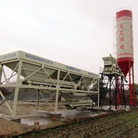 金隆HZS25型混凝土��拌站 小型工程混凝土��拌站