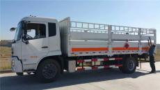 安全达标的6米6仓栏式气瓶运输车/东风天锦仓栏式气瓶运输车