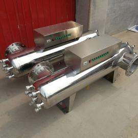 TX-UVC-240紫外线消毒器管道式 304不锈钢过流式紫外线杀菌器