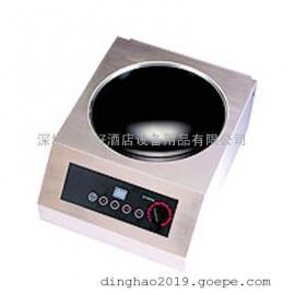 商用凹形单头电磁炉PRECISE TTW-5000N 不锈钢外壳 桌上式电磁炉