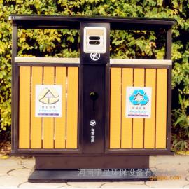 钢木垃圾桶河南、南阳果皮箱、郑州信阳垃圾箱供货源头