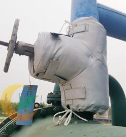 热力站阀门保温衣 排气管可拆卸式保温套 新型保温材料专业定制