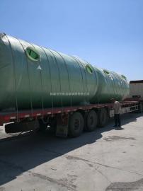 阿图什玻璃钢化粪池15吨玻璃钢化粪池隔油池大全