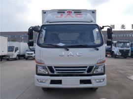 江淮骏铃V6冷藏车价位 蓝牌4米2冷藏车