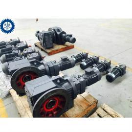 泰兴双极锥齿轮减速机变频给水设备减速器KA187R97-8126-1.1KW