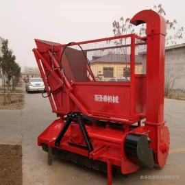 全自动秸秆回收机 行走式秸秆青储机