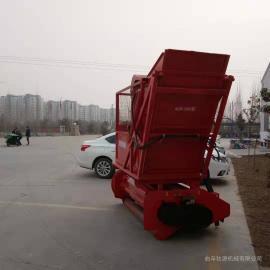 圣泰机械拖拉机悬挂秸秆回收机 二次粉碎行走式秸秆青储机ST-shj