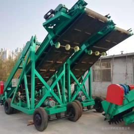 牧源机械大型养殖场青储饲料取料机 悬臂式青储取草机9SF-7