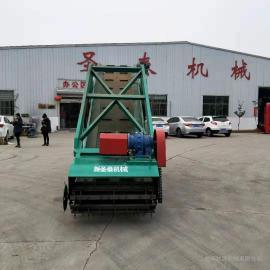 牧源机械液压式青储饲料取料机 自走式牛羊养殖青储饲料取草机9SF-7