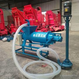 牧源机械大型豆渣干湿脱水机 全自动畜禽粪便固液分离机GY-200A
