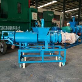 污水脱水机 养殖用猪粪鸡粪固液分离机 干湿固液脱水机