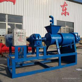 挤压式粪便处理机 猪粪鸡粪固液分离机 干湿分离机械
