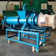 螺旋式固液分离机 养殖用猪粪鸡粪脱水机 污泥脱水机